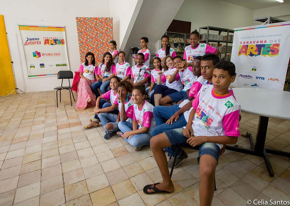 Aulas despertam potenciais  muito além de digitar mensagens. | Foto: Celia Santos/Instituto Mpumalanga.