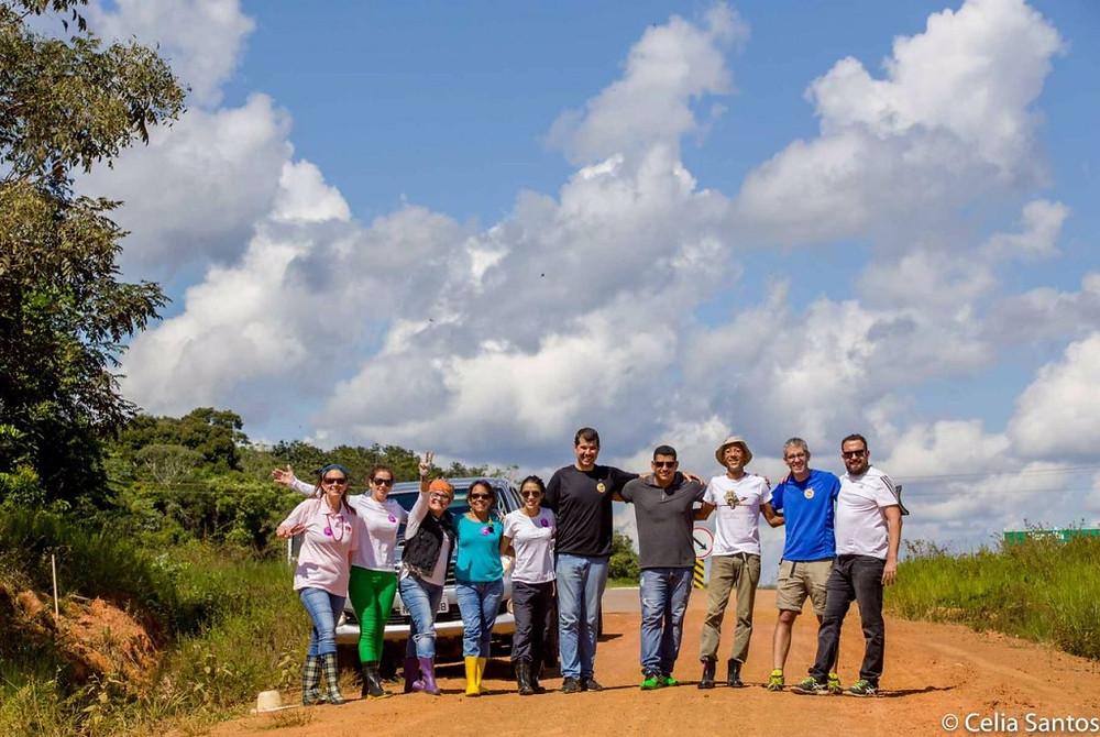 Equipe pronta para mais um travessia da Transamazônica pelo Vozes do Purus!
