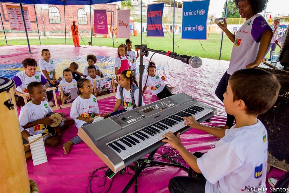 As artes como método educacional é uma das bandeiras do projeto Caravana das Artes. (Foto: Celia Santos)