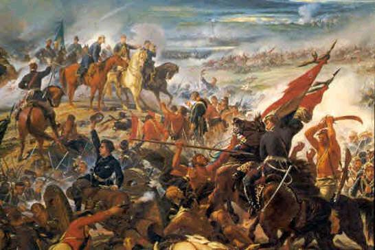 Retrato da Guerra do Paraguai do século XIX