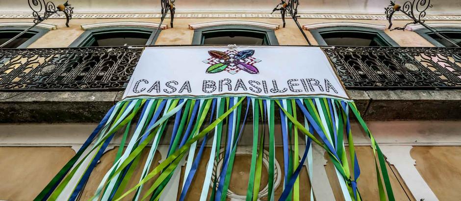 Programação Casa Brasileira – Julho 2018