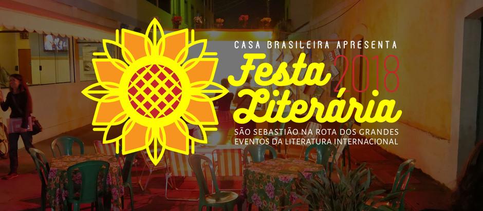 Começa a Festa Literária 2018 em São Sebastião