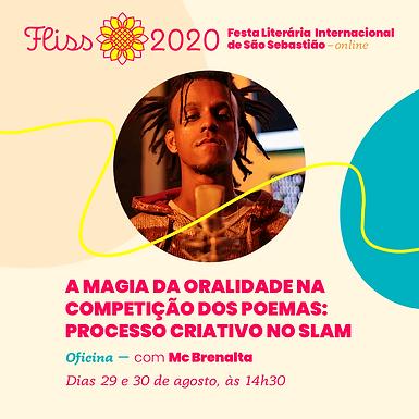 Oficina – A Magia da Oralidade na Competição dos Poemas: Processo Criativo no Slam