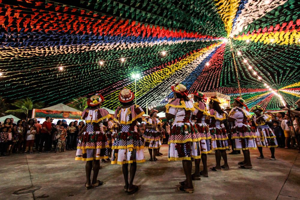 O Samba de Pareia é uma das atrações de Laranjeiras e está presente nos festejos juninos (Foto: Divulgação)