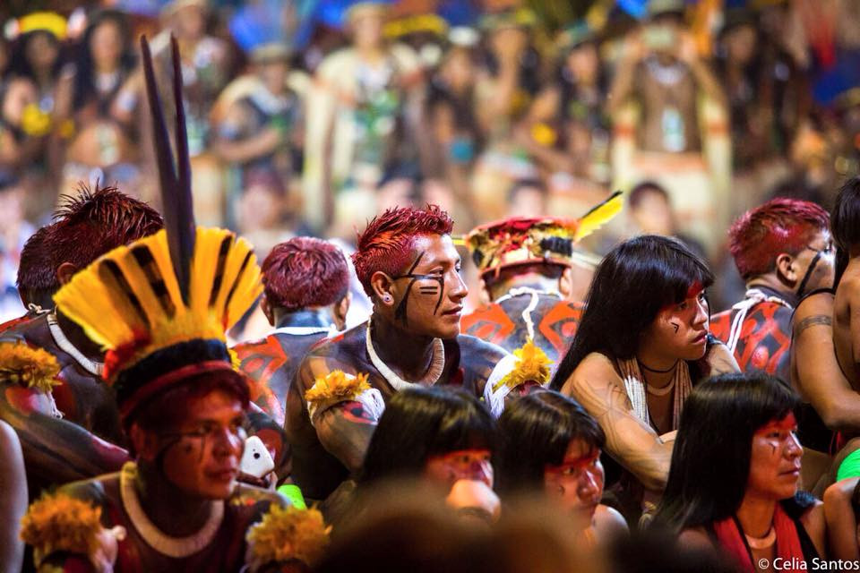Diversidade de culturas e multiplicidade de saberes no primeiro encontro mundial de indígenas voltado ao esporte (Foto: Celia Santos)