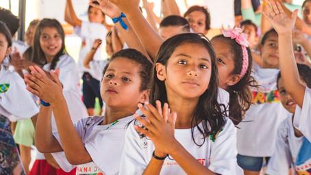 Arte e esporte para nossas crianças