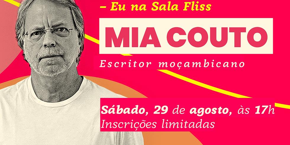 Eu na Sala Fliss – Mia Couto