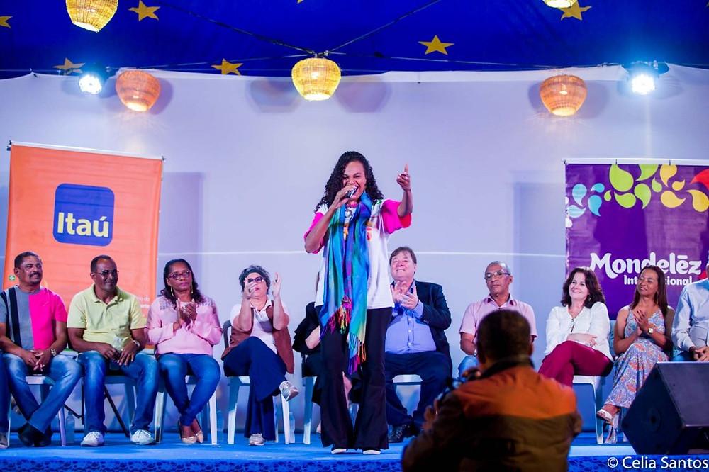 Clécia vai cantar e falar sobre as raízes do Samba em sua participação em Laranjeiras, com os professores do Instituto Mpumalanga. (Foto: Celia Santos)