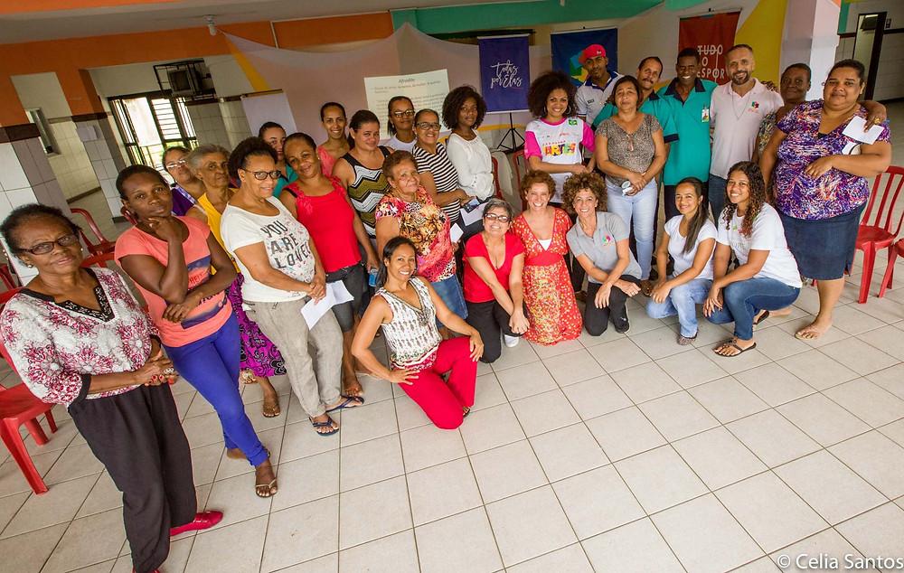 Todas por Elas também é um movimento de descoberta interno. | Foto: Celia Santos/Instituto Mpumalanga