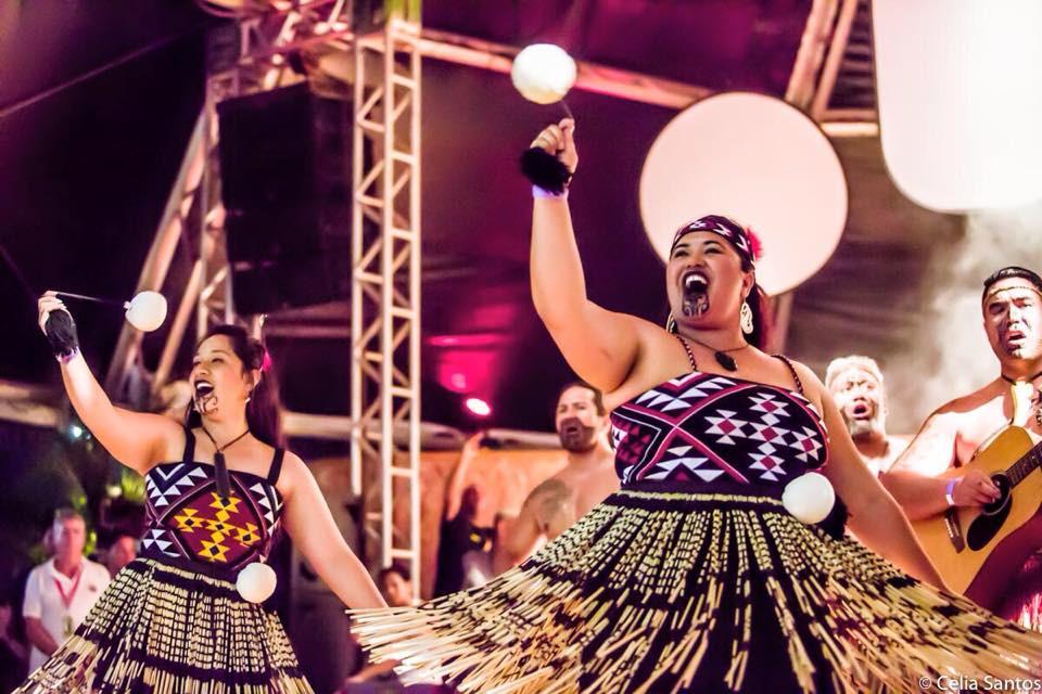 Maori é uma das etnias estrangeiras que marcam a convergência dos Jogos. (Foto: Celia Santos)