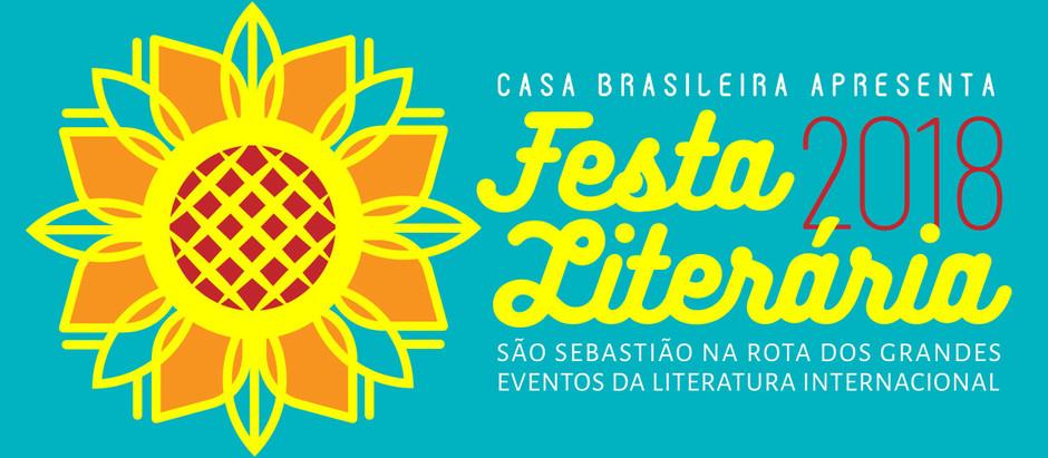 Casa Brasileira lança Festa Literária em São Sebastião  e une férias e leitura no litoral norte de S