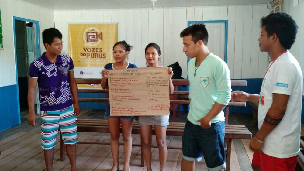 Trabalho do Vozes do Purus tem como princípio a preservação da cultura. Jovens estão engajados na proposta!