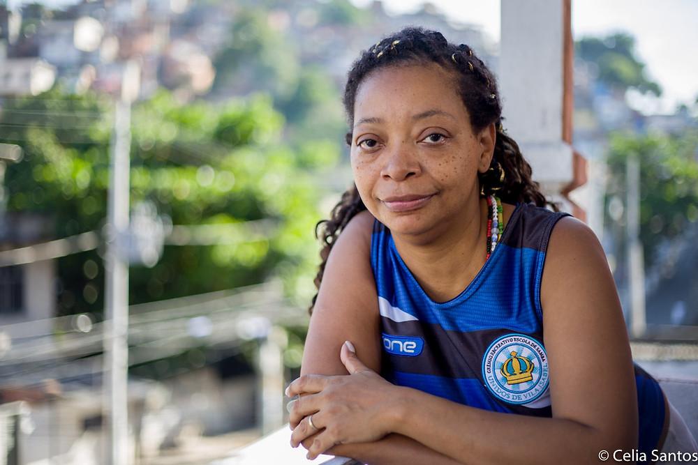 Analimar Ventapane é filha de Martinho da Vila e se dedica ao grupo mirim da Unidos de Vila Isabel. (Foto: Celia Santos)