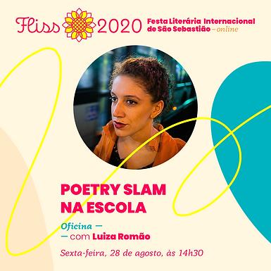 Oficina — Poetry Slam na Escola