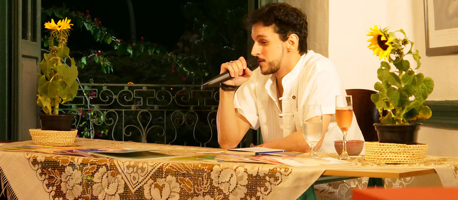 Rudá Ventura: Poesia e o oficio de ser poeta