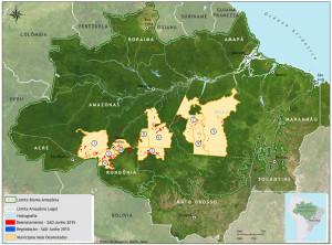 Desmatamento na região do Médio Purus preocupa
