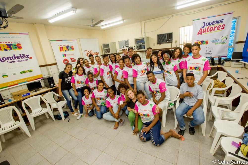 Alunos dos Jovens Autores em todo Brasil ganham ferramentas que ajudam na expressão textual. | Foto: Celia Santos/Instituto Mpumalanga