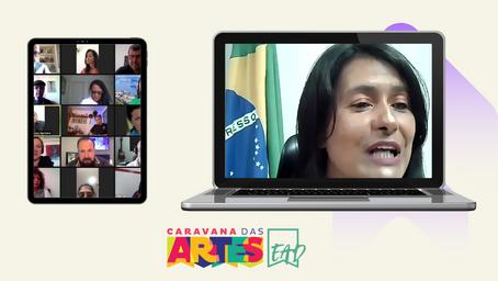 Caravanas lançam EAD/2021 - 2º semestre para 9 municípios de Sergipe