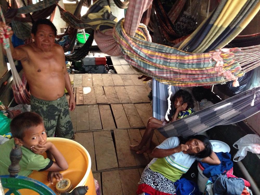 Indígenas passam cerca de 15 dias no município e temem problemas de comunicação. (Foto: Reportagem Caravana das Artes)