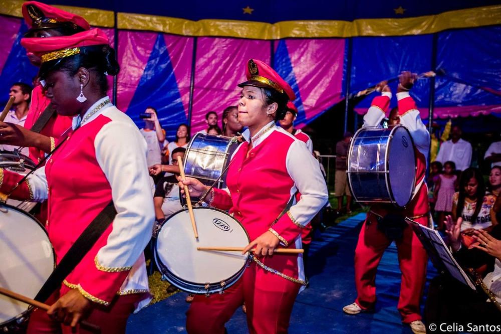Banda Fanfarra da Mussuca surgiu para reavivar a cultura das fanfarras em Laranjeiras. (Foto: Celia Santos)