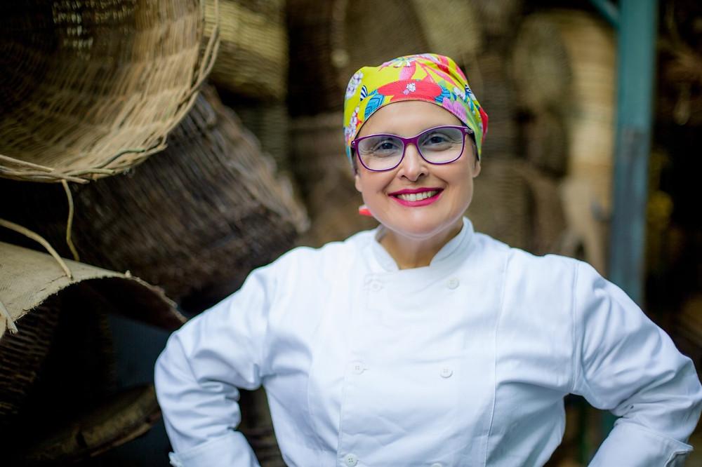 Chef Adriana Saldanha, do Brasileira Gourmet