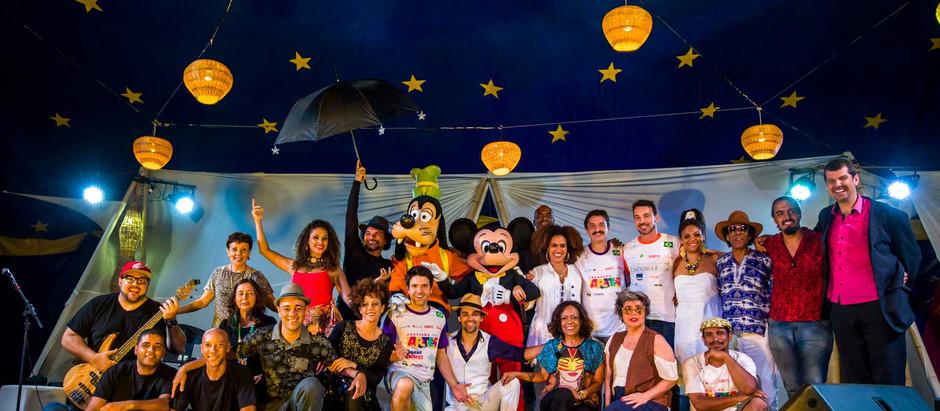 Viva com Arte: Uma família para além do palco