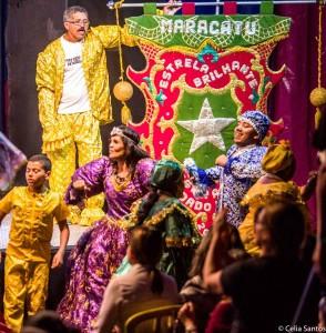 """""""O maracatu representa uma das maiores riquezas que a gente tem de cultura popular em Pernambuco"""", Gilmar de Santana Batista - mestre do Maracatu Estrela Brilhante de Igarassu. Foto: Célia Santos"""