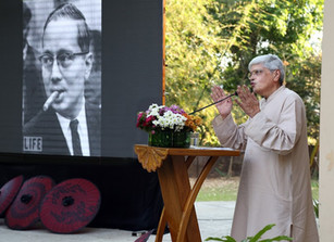 """2017 U Thant Memorial Lecture: """"The Soul of a People"""" by Shri Gopal Gandhi"""