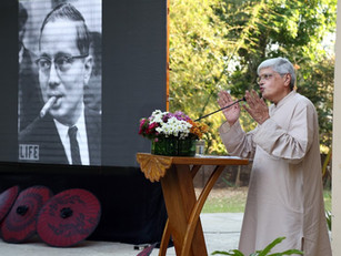 U Thant Memorial Lecture:'The Soul of a People' by Shri Gopal Gandhi