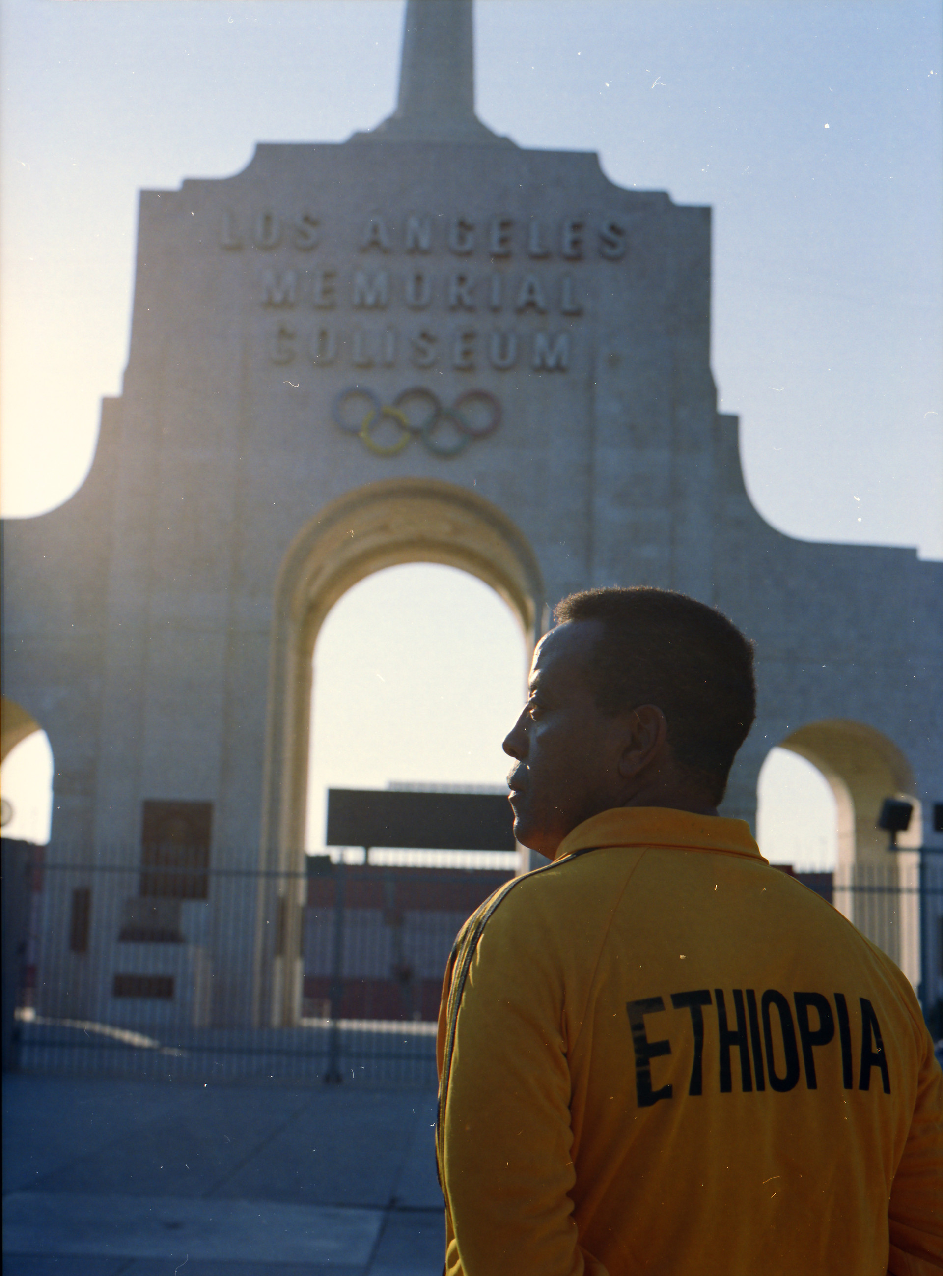 Seb Zewdie - Los Angeles Memorial Coliseum