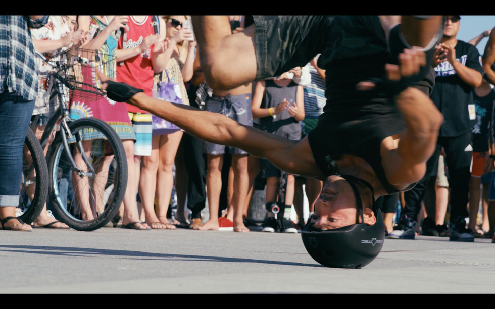 Head Spin Breakdancing