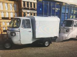 Our Piaggio Ape Classic Van