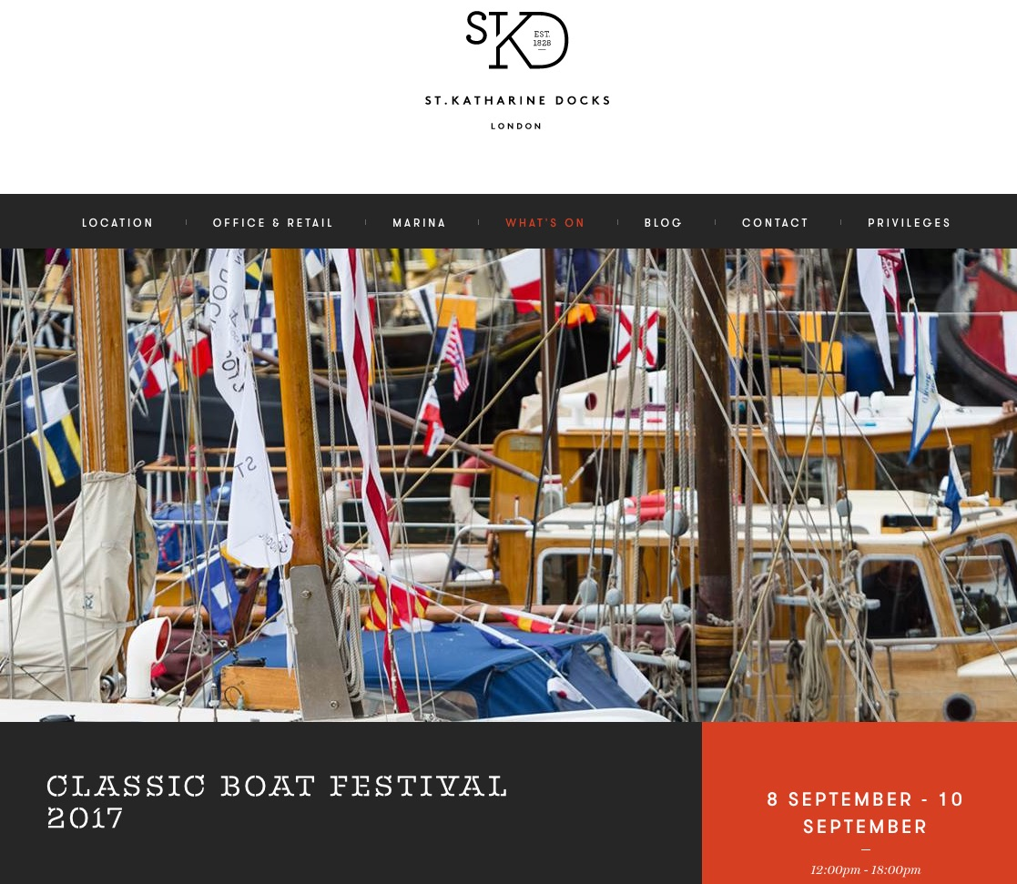 Classic Boat Show 9th-10th Sept