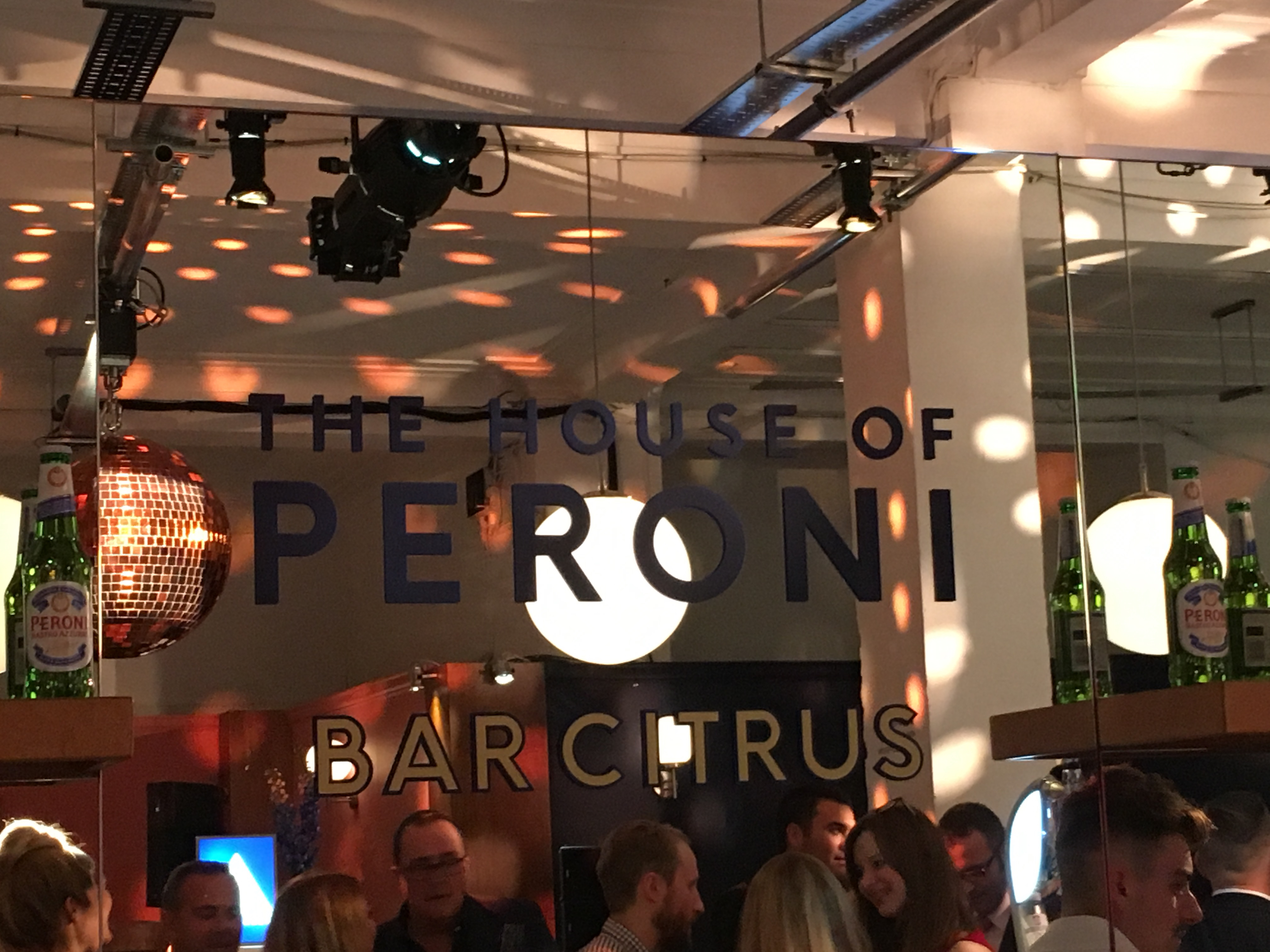 House of Peroni - Bar Citrus