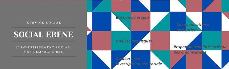 Copie de Orange and Blue Geometric Patte
