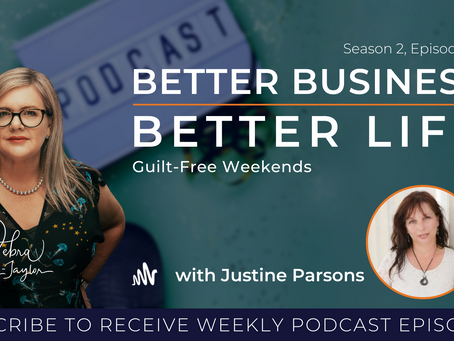 Guilt-Free Weekends with Justine Parsons - Season 2, Episode 13 [Lockdown Special!]