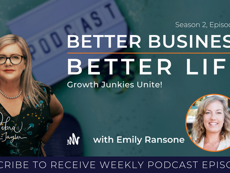 Growth Junkies Unite! with Emily Ransone - Season 2, Episode 11