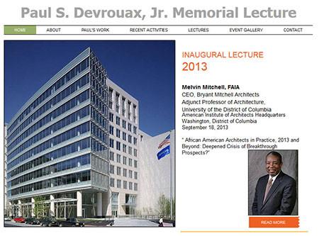 Paul S. Devrouax, Jr. Memorial Lecture