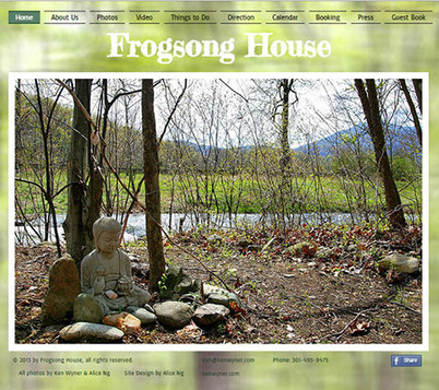Frog Song House