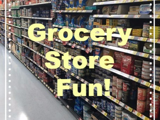 Speech and language adventures at the grocery store