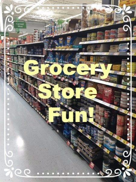 Speech in the grocery store