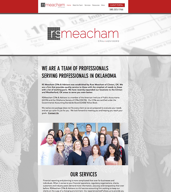 RS Meacham - Web Design