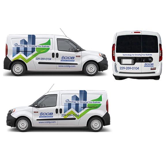 CCB Tech Group Van Wrap