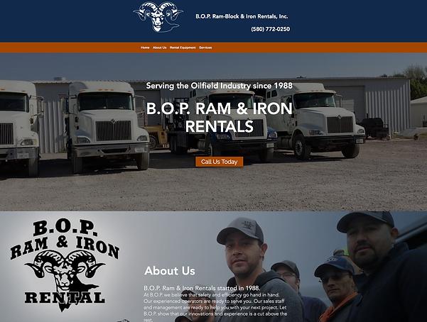 BOP Ram - Web Design