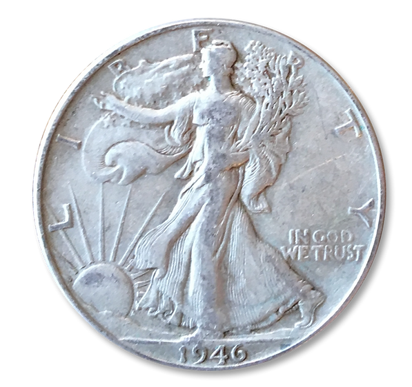 A 1946 Coin Given to Customers by David Taufest