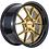 Thumbnail: 18x8.5 F1R F105 Gold