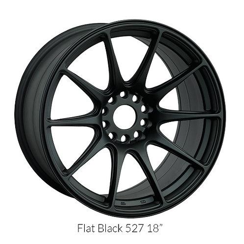 17x9.75 XXR 527 Matte Black