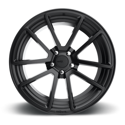 19x8.5 Rotiform SPF Black