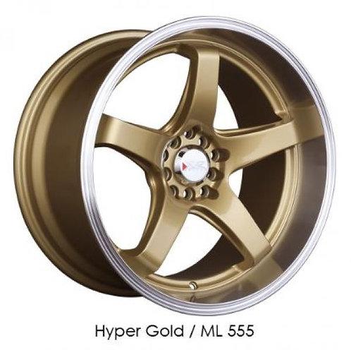 18x8.5 XXR 555 Gold