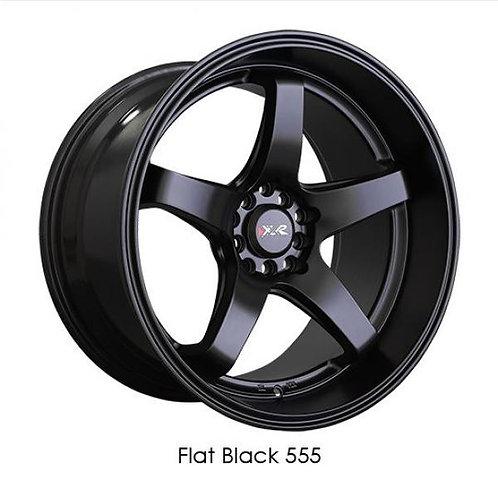 17x8 XXR 555 Matte Black